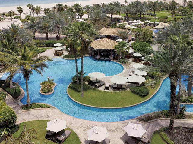 The Ritz Carlton Dubai - Exterior View Pool Area