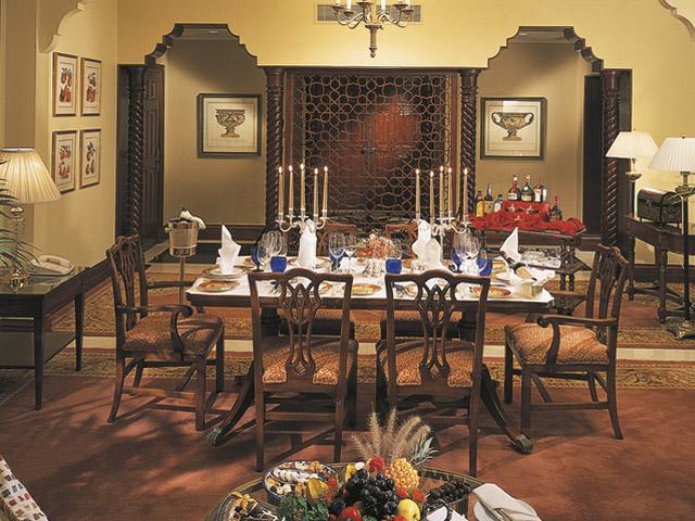 The Ritz Carlton Dubai - Dining Area