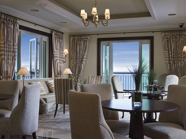 The Ritz Carlton Dubai - Exclusive Lounge Area