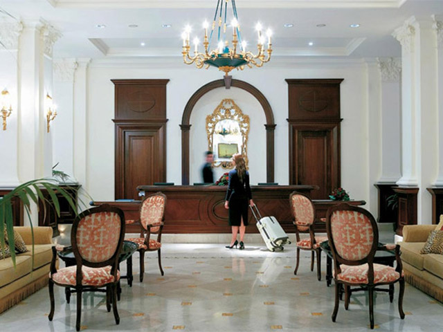 Larissa Imperial - Classical Hotels - Reception