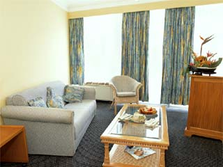 The Lugogo SunMini Suite - Lounge