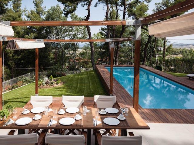 The White Villa at Sani: