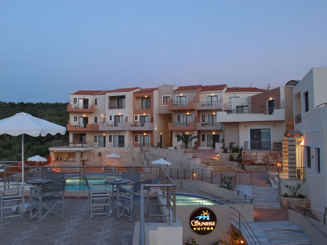 Sunrise Suites - Exterior View