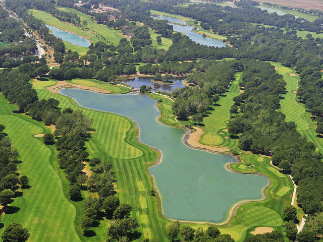 Gloria Golf Resort - Aerial View