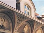 Interior Facade Great Composers - Dvorak