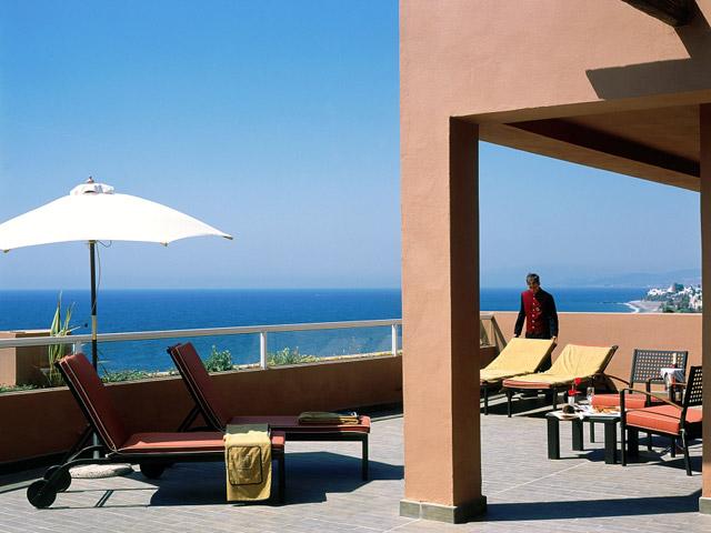 Gran Hotel Elba Estepona & Thalasso Spa: Veranda