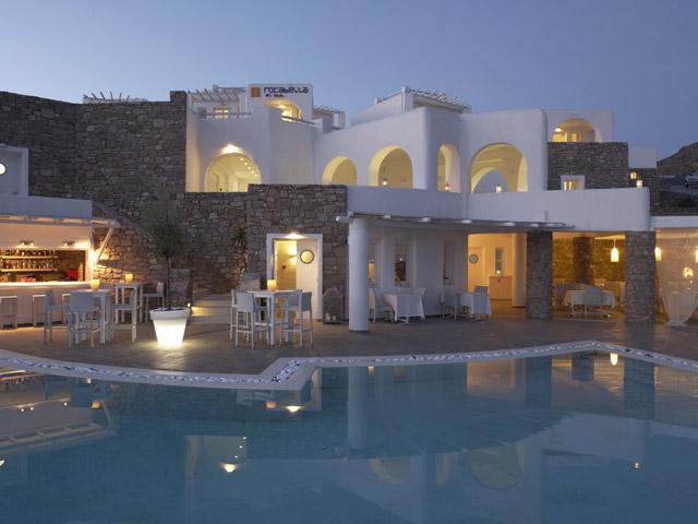 Rocabella Art Hotel & Spa Mykonos - Exterior View
