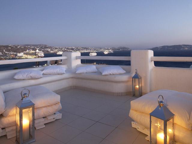Rocabella Art Hotel & Spa Mykonos - Superior Room Veranda
