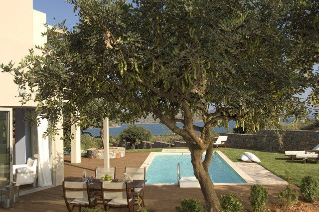 Elounda Carob Tree Valley Villas - Elounda Carob Valley Villas Exterior View Pool