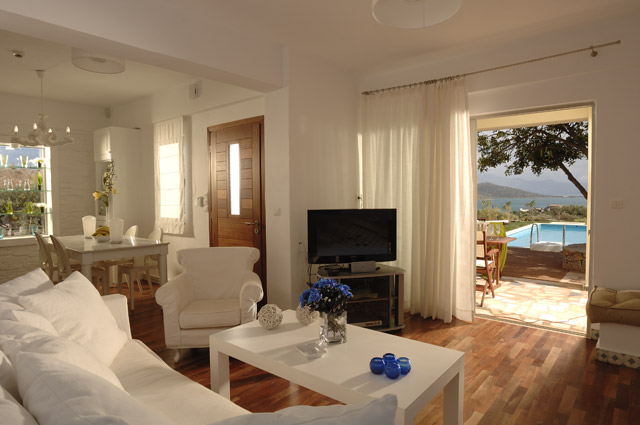 Elounda Carob Tree Valley Villas - Elounda Carob Valley Villas Living Room