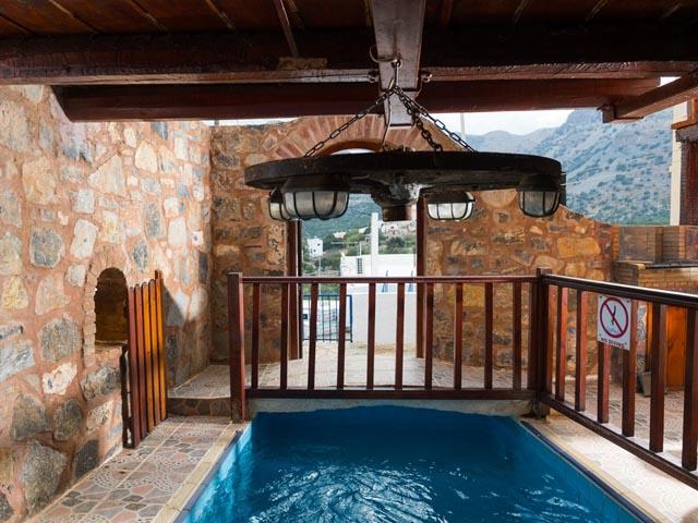 Elounda Monastery Stone Home: