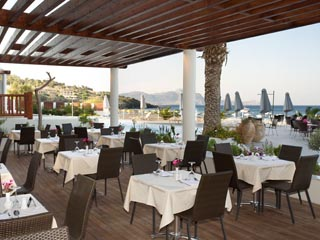 Sentido Lindos Bay and SPA HotelRestaurant Terrace Lindos Bay