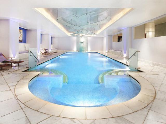 Grande Bretagne Hotel: Spa Interior Pool