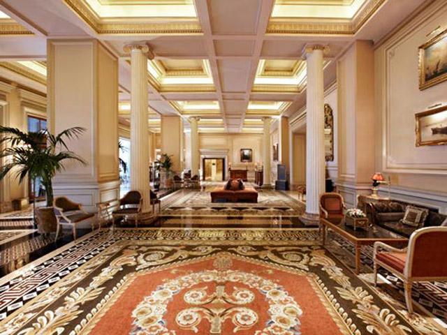 Grande Bretagne Hotel - Lobby Area