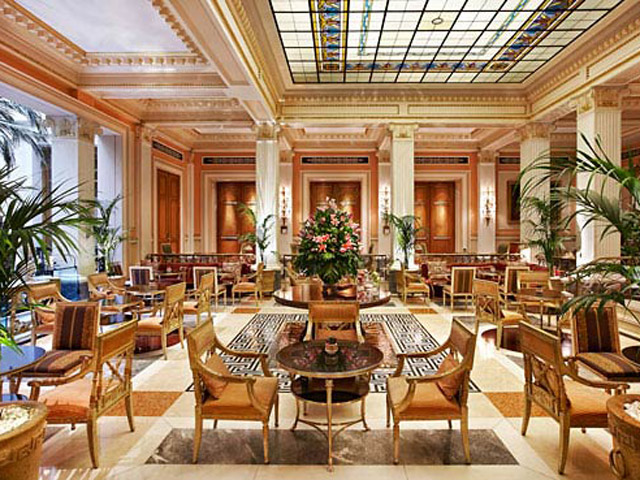 Grande Bretagne Hotel - Restaurant Wnter Garden