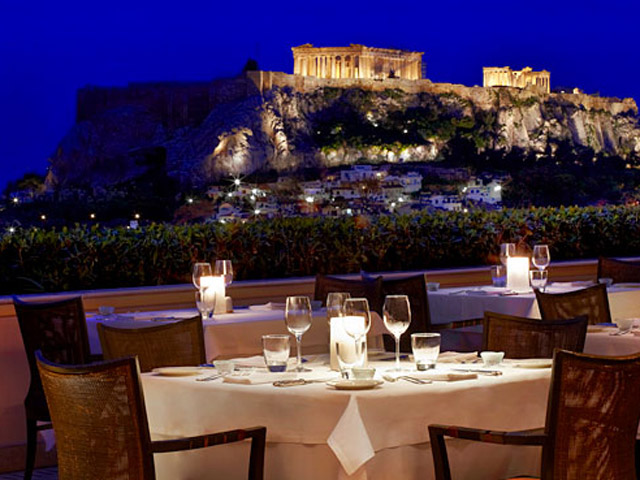Grande Bretagne Hotel - Restaurant