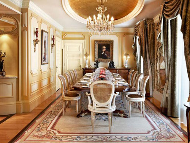 Grande Bretagne Hotel - Presidential Suite - Dining Room