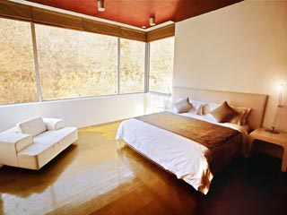 Commune by the Great Wall KempinskiAiport House Master Bedroom