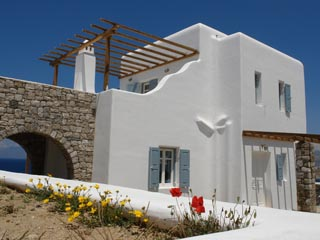 Luxury Villas Mykonos: Exterior View