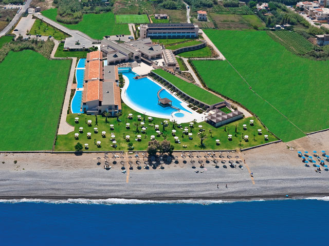 Cavo Spada Luxury Resort & SpaAerial view