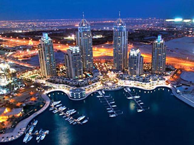 Dubai Marriott Harbour Hotel & SuitesView of the area