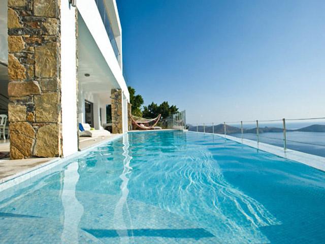 Elounda Villa Sapphire (Zafira): Villa Sapphire Pool Area