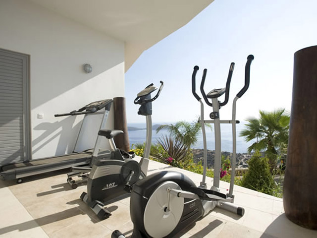 Elounda Villa Sapphire (Zafira): Villa Sapphire Fitness Room