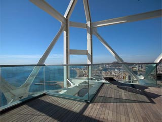 Arts Hotel, BarcelonaRelaxation terrace