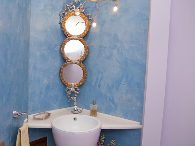 Faros Villa - Bathroom