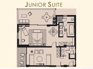 Kyllini Beach Resort: Junior Suite - Plan