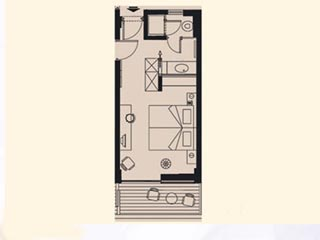 Kyllini Beach Resort: Double Room - Plan