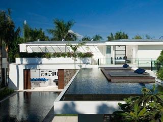 Aqua VillaFrom Top Roof