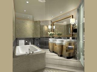 Gran Melia ShanghaiStandard  Room Bathroom