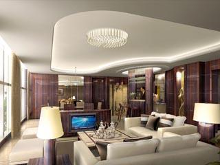 Gran Melia ShanghaiImperial Suite Living Room