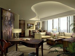 Gran Melia ShanghaiPresidential Suite Living Room