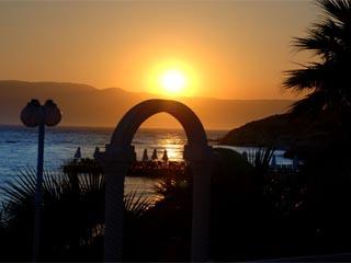 Kerasus Thermal & Wellness Resort: Sunset