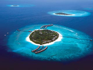The Beach House at Manafaru MaldivesAerial