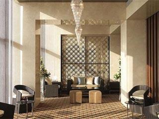 Crowne Plaza Dubai Festival CityMazar lobby lounge