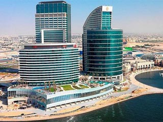 Crowne Plaza Dubai Festival CityPanoramic View