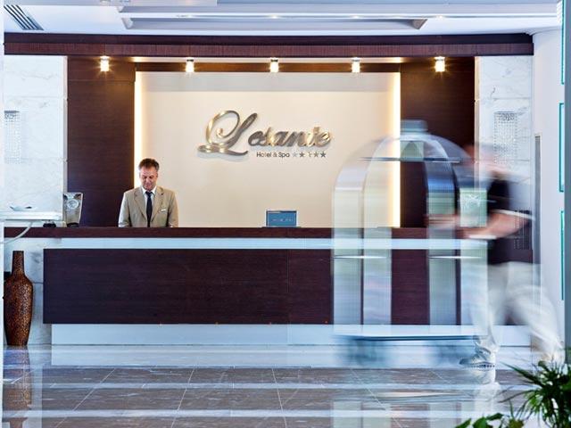 Lesante Luxury Hotel & Spa: Reception