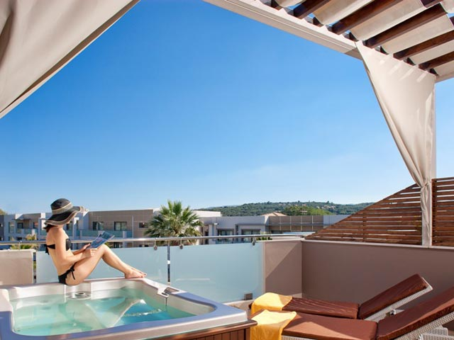 Lesante Luxury Hotel & Spa: Balcony
