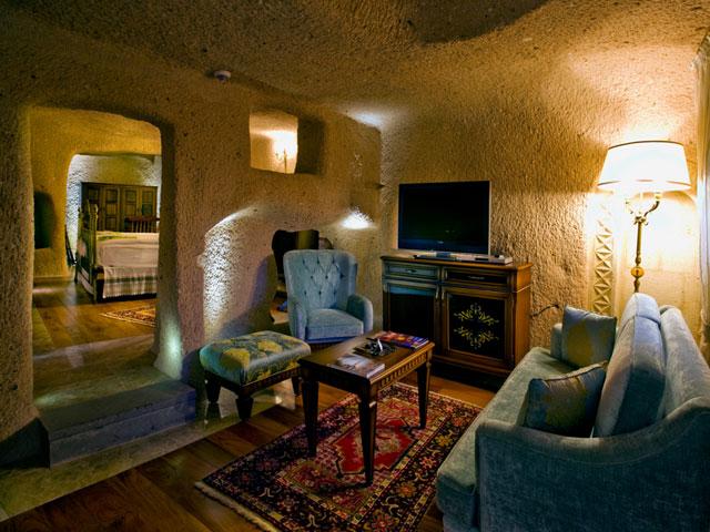 Cappadocia Cave Resort & Spa - Living room