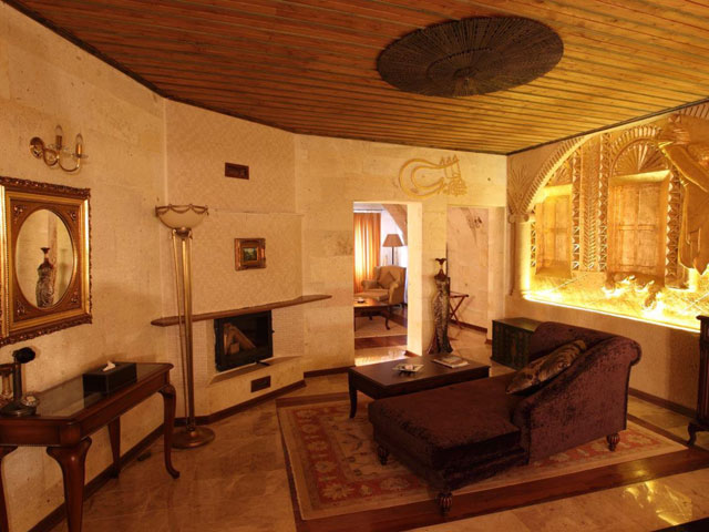 Cappadocia Cave Resort & Spa - Living room