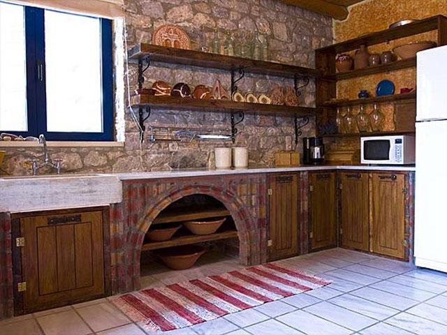 Aoritis VillasVilla Rozare Kitchen