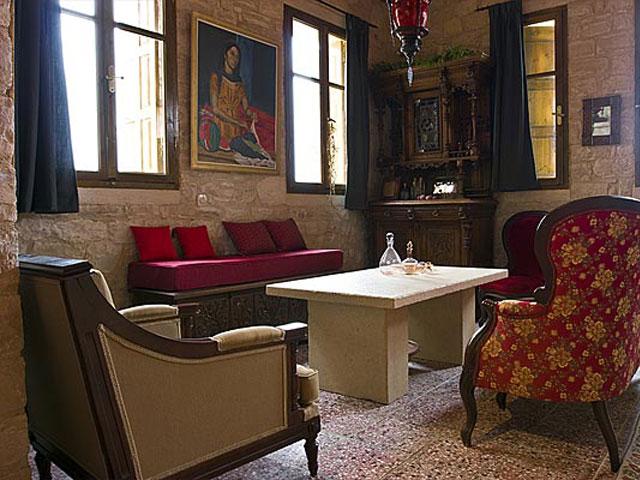 Aoritis Villas: Villa Kantinella Living Room