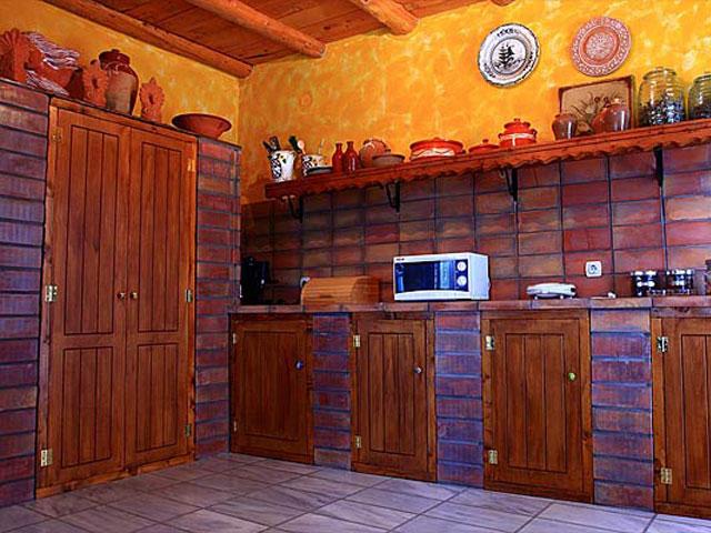 Aoritis Villas: Villa Manousaki Kitchen