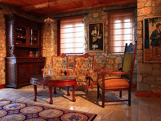 Aoritis VillasVilla Manousaki Living Room