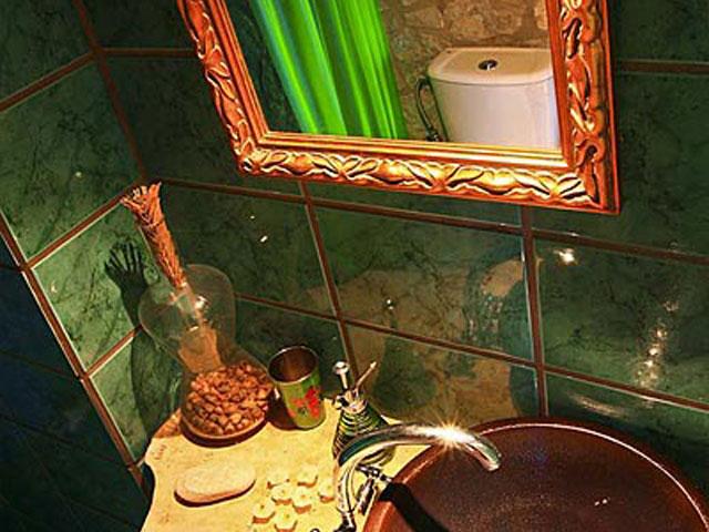 Aoritis VillasVilla Manousaki Bathroom