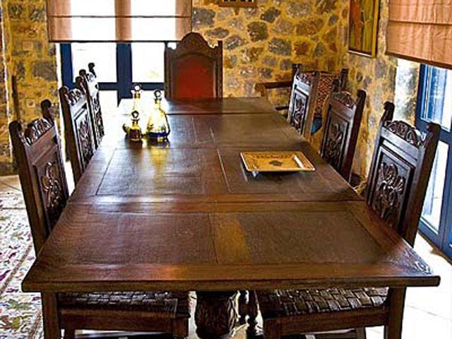 Aoritis Villas: Villa Petritis Dining Room