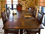 Villa Petritis Dining Room